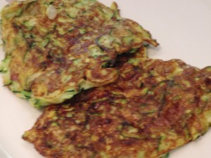 zucchini pancakes and lyme disease